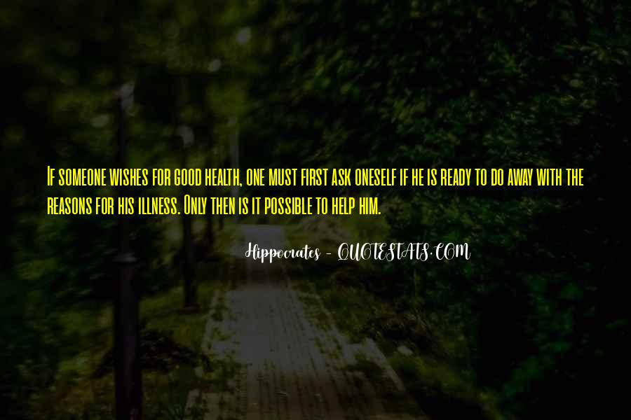 Quotes About Hippocrates #653029