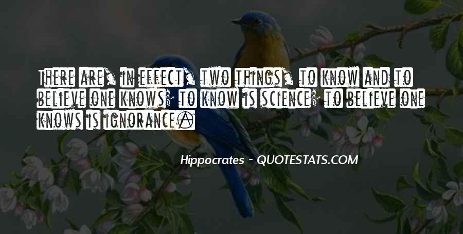 Quotes About Hippocrates #665556