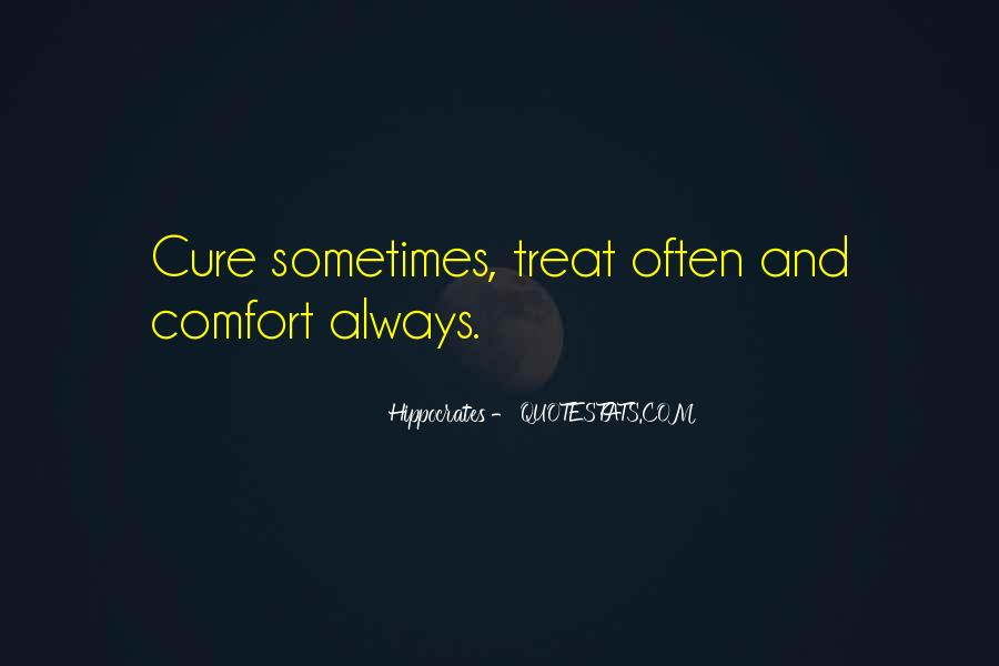Quotes About Hippocrates #669631