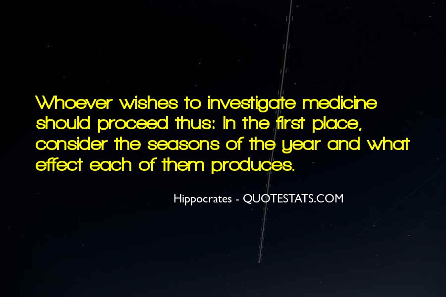 Quotes About Hippocrates #703399