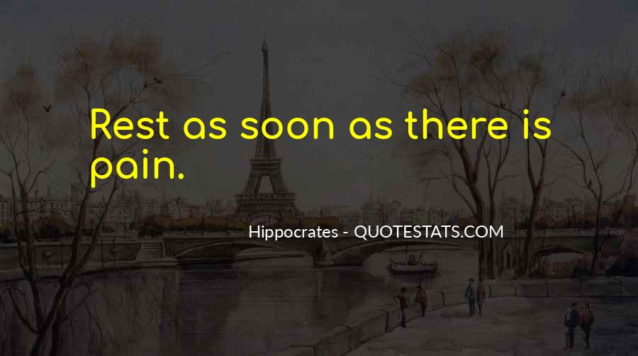 Quotes About Hippocrates #907611