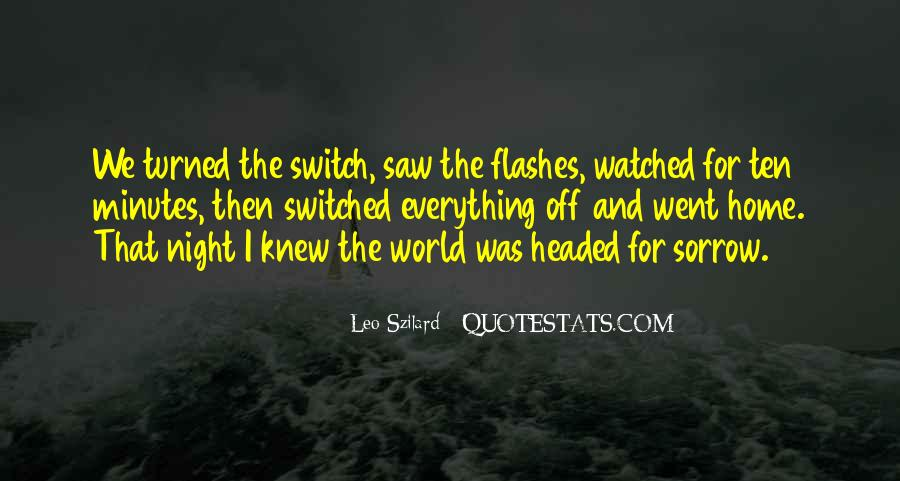 Switched Off Quotes #733288