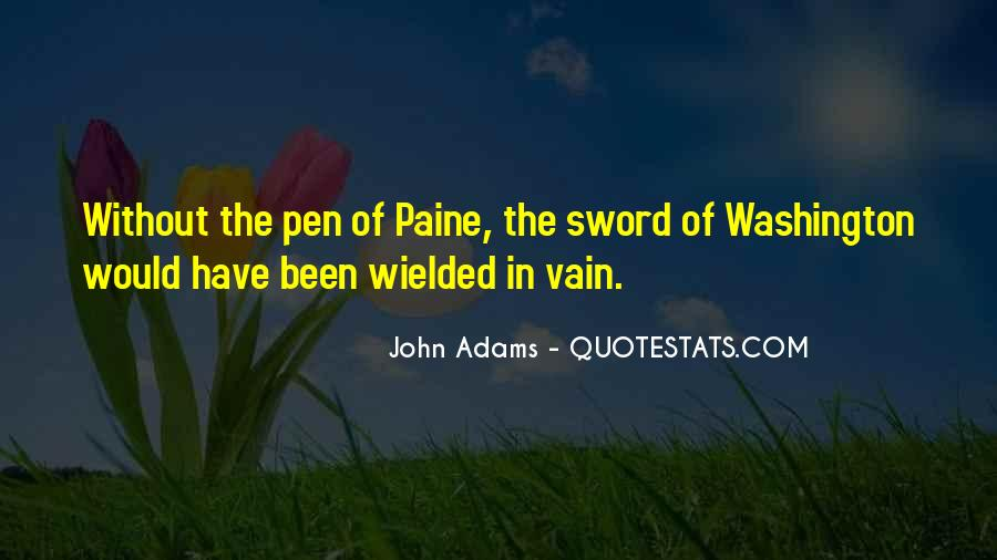 Sword And Pen Quotes #209787