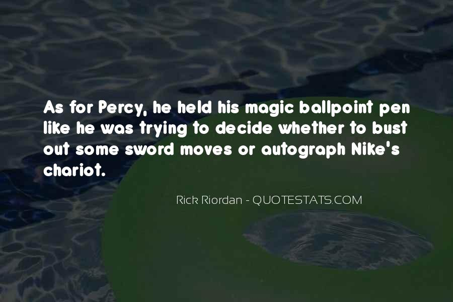 Sword And Pen Quotes #543222