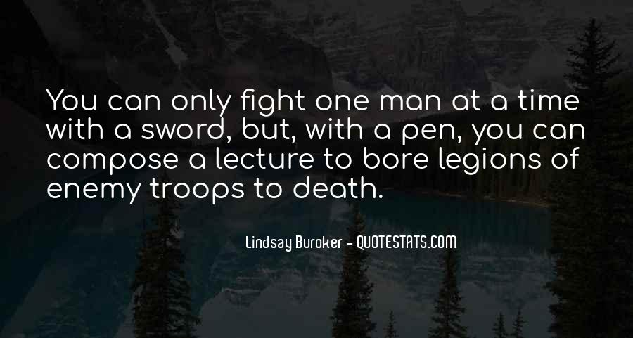 Sword And Pen Quotes #719896