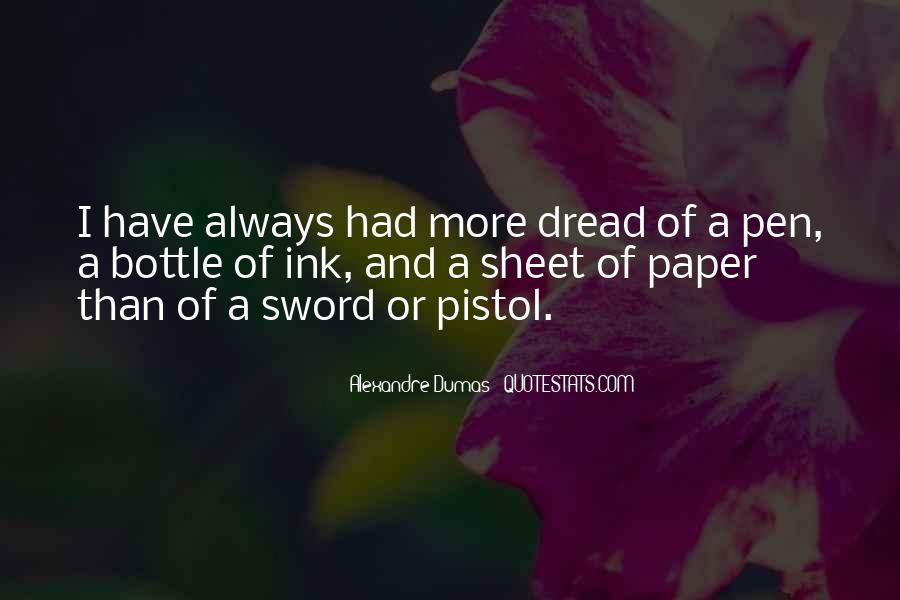 Sword And Pen Quotes #909154