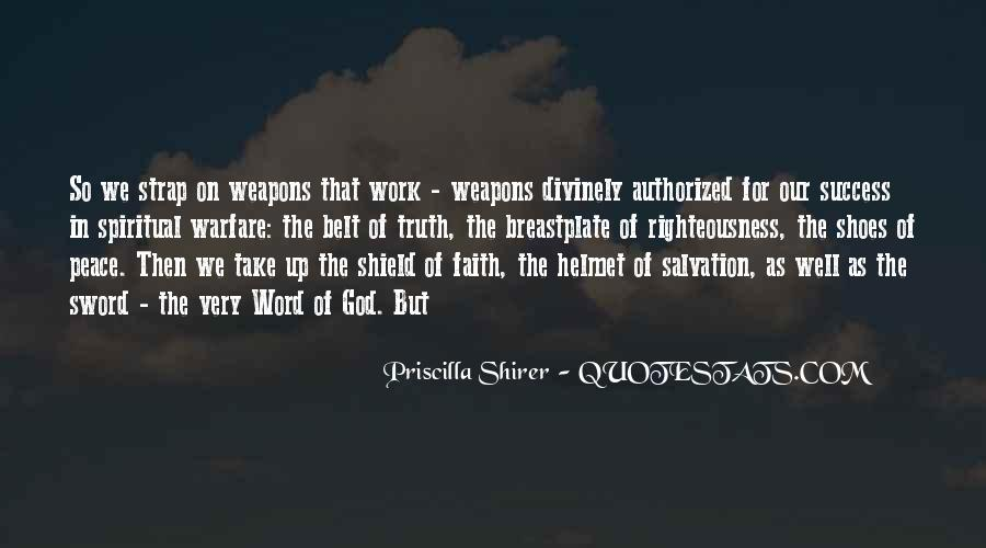 Sword And Shield Quotes #1150238