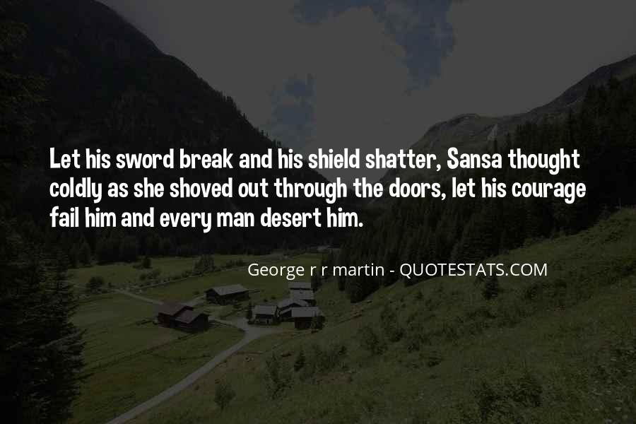 Sword And Shield Quotes #216124