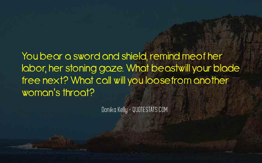 Sword And Shield Quotes #918735