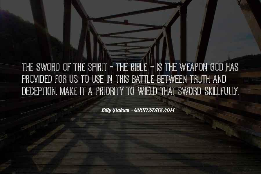 Sword Of Truth Bible Quotes #352969