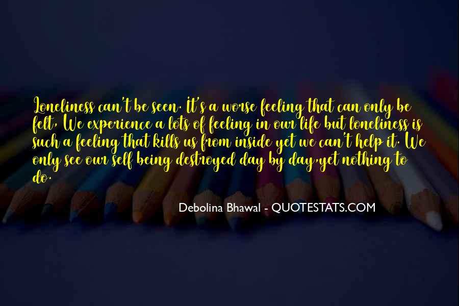 Quotes About Being Alone But Not Lonely #46046