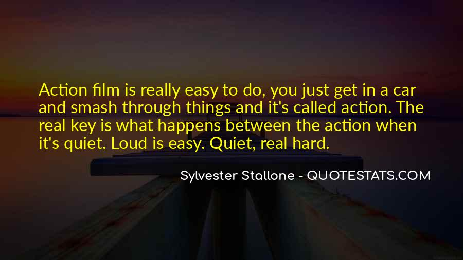 Sylvester Stallone Film Quotes #1460977