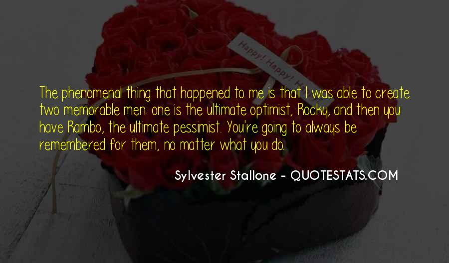 Sylvester Stallone Rocky 7 Quotes #16313