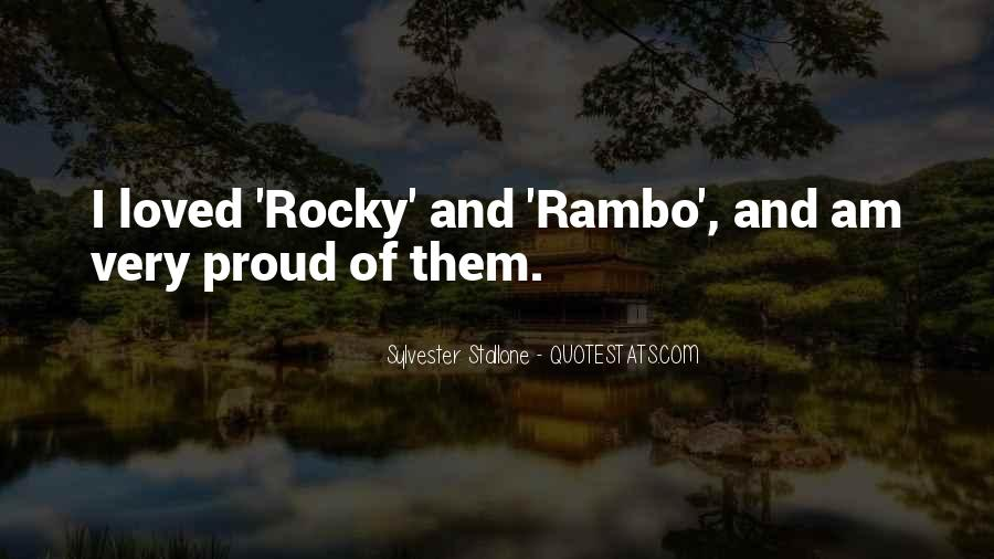 Sylvester Stallone Rocky 7 Quotes #28802