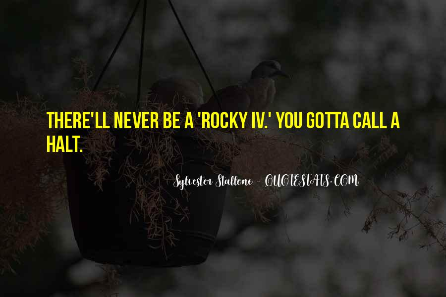Sylvester Stallone Rocky 7 Quotes #431579