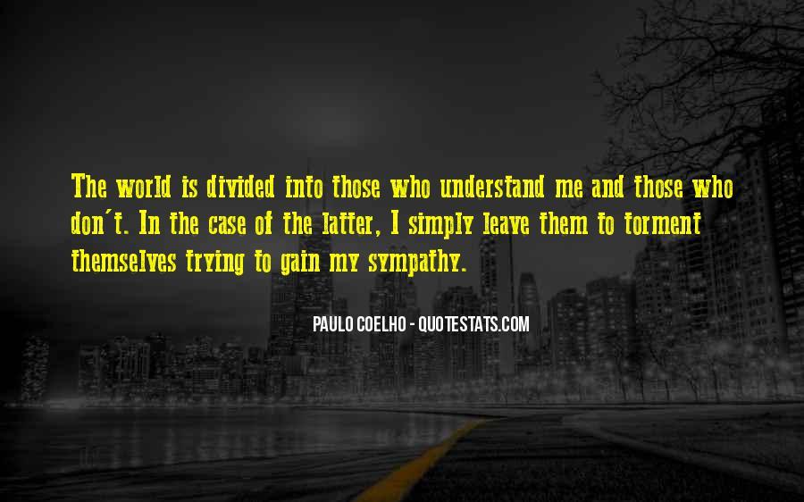Sympathy Gain Quotes #1507841