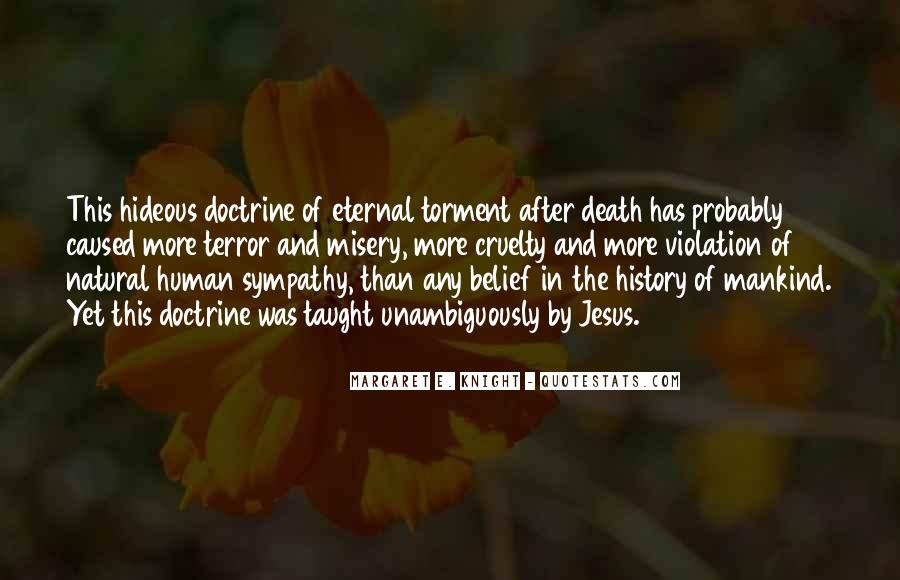 Sympathy With Death Quotes #613746