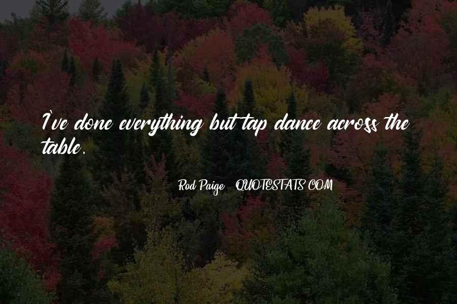 Table Dance Quotes #1126246