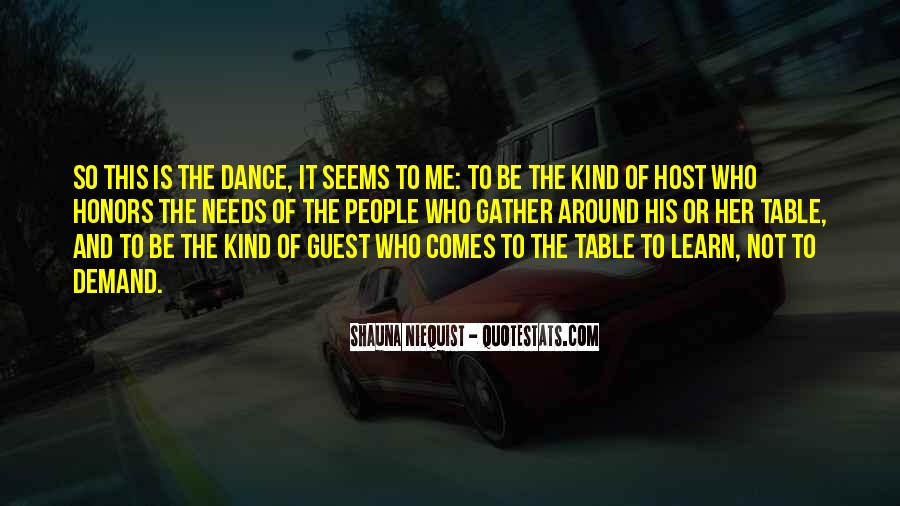 Table Dance Quotes #1643041