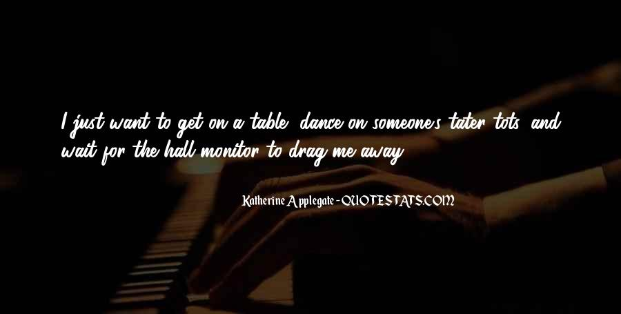 Table Dance Quotes #587032