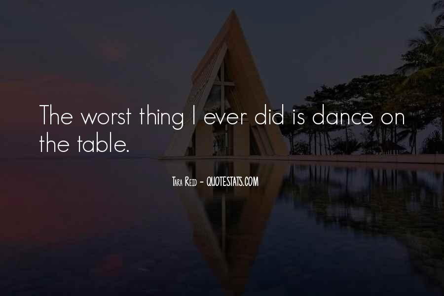 Table Dance Quotes #920784