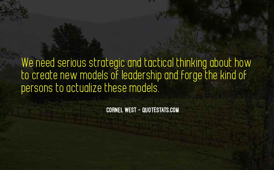 Tactical Thinking Quotes #432020