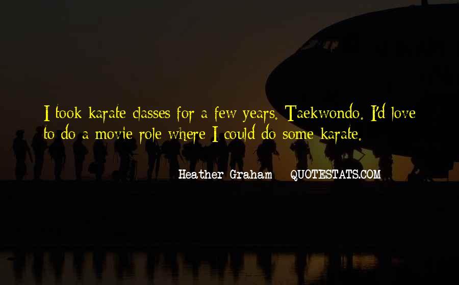 Taekwondo Love Quotes #535227