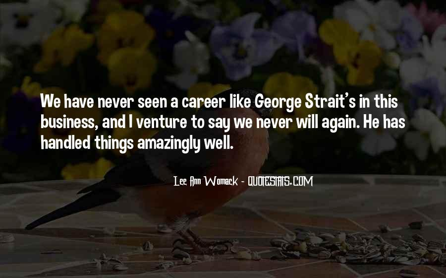 Quotes About George Strait #1197945