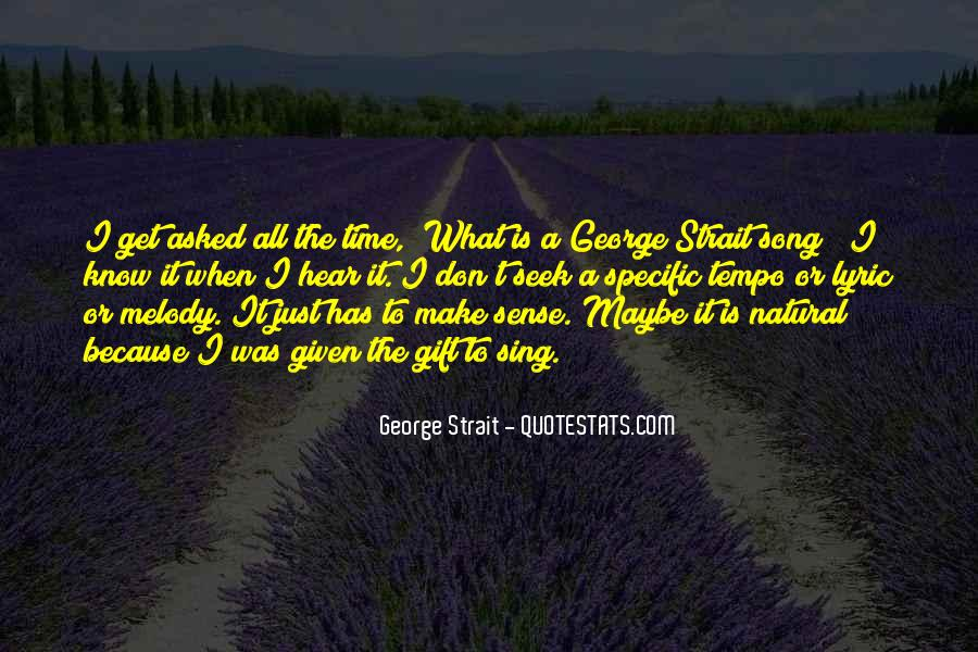 Quotes About George Strait #1227398