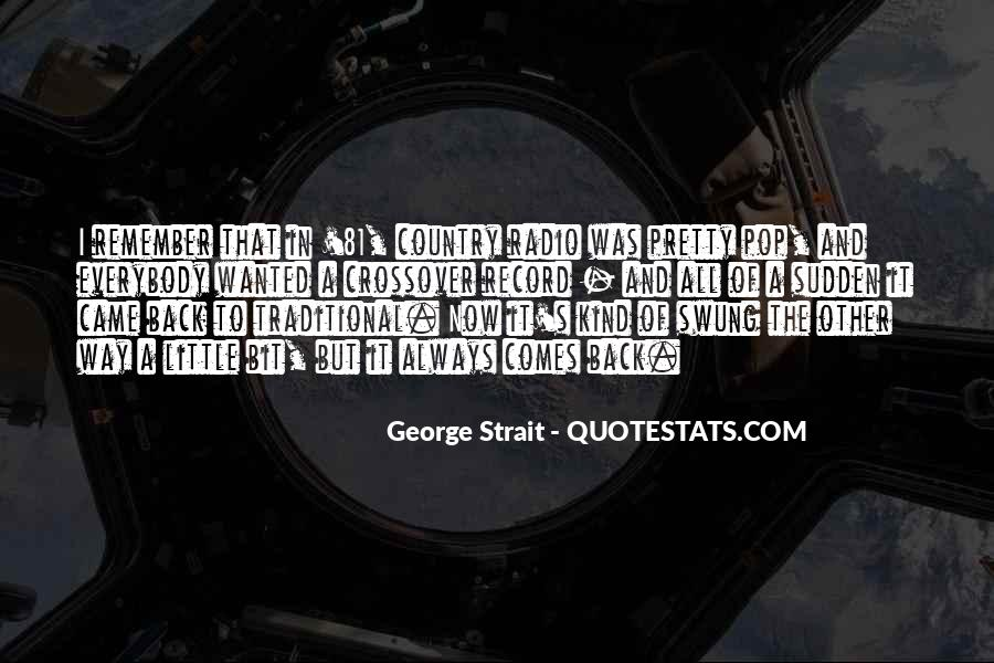 Quotes About George Strait #314703