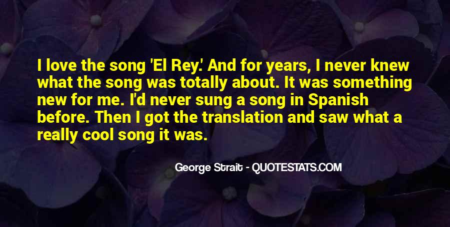 Quotes About George Strait #853608
