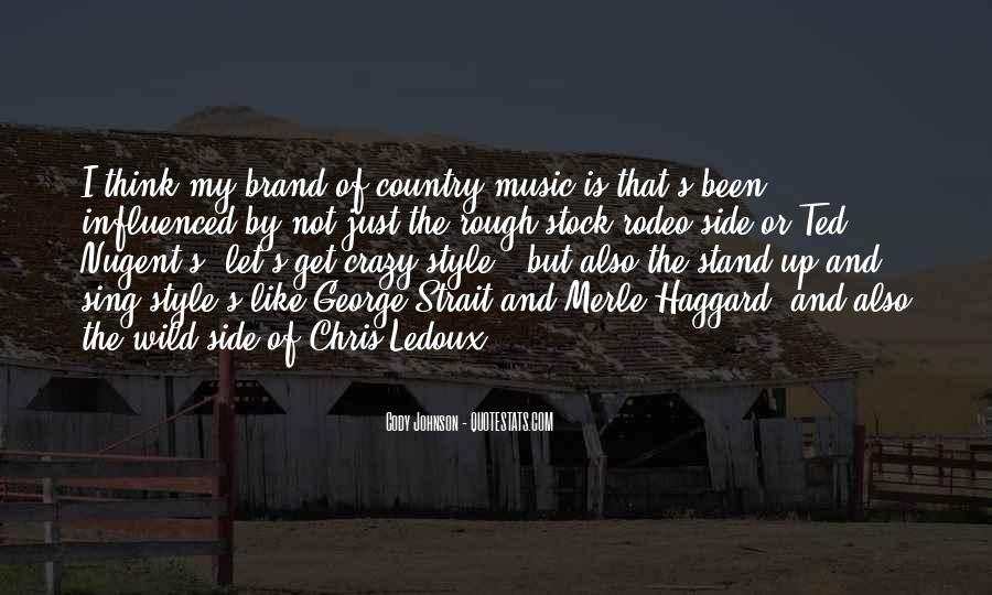 Quotes About George Strait #94315