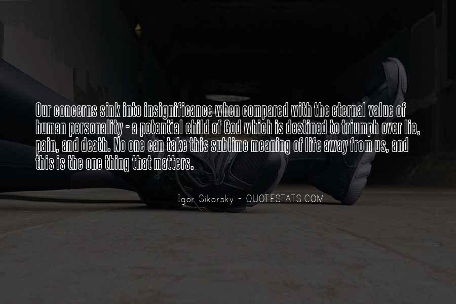Take Away Pain Quotes #1227263