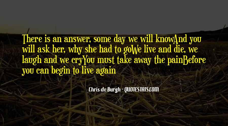 Take Away Pain Quotes #407942