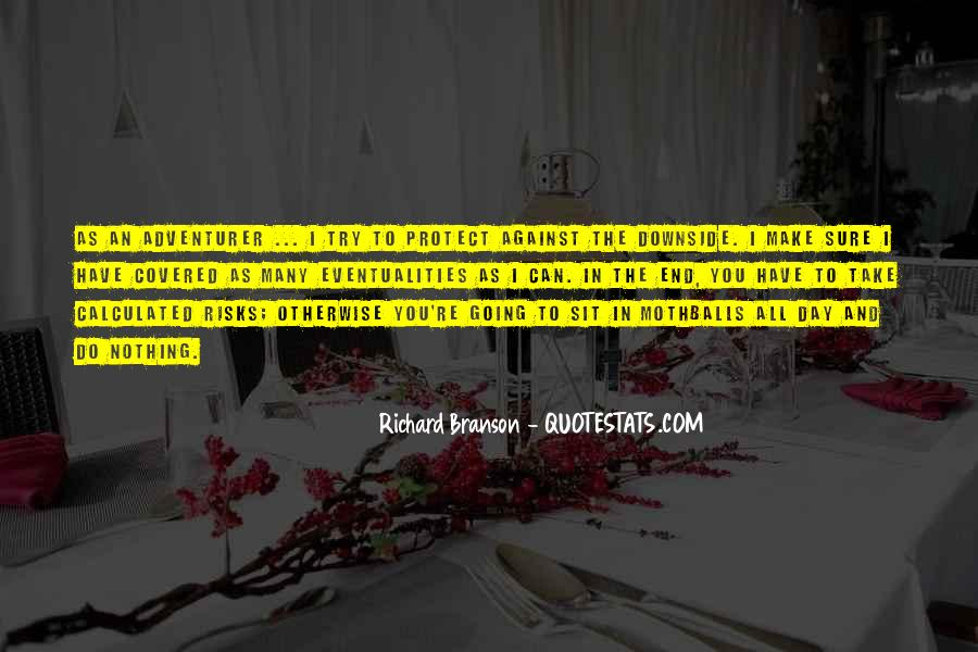 Take Calculated Risks Quotes #1213307