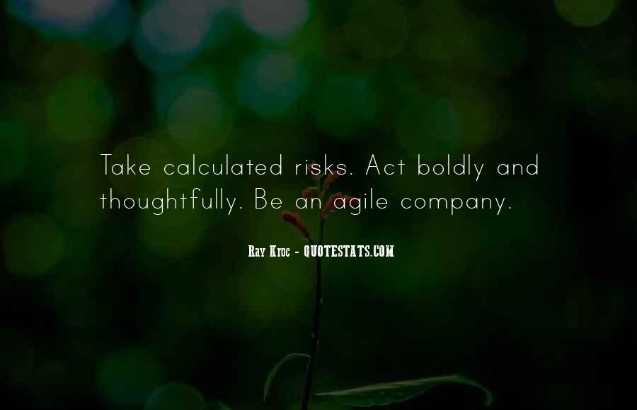 Take Calculated Risks Quotes #1625480