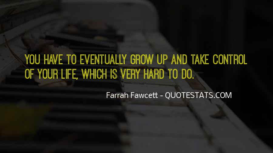 Take Control Of Your Own Life Quotes #649289