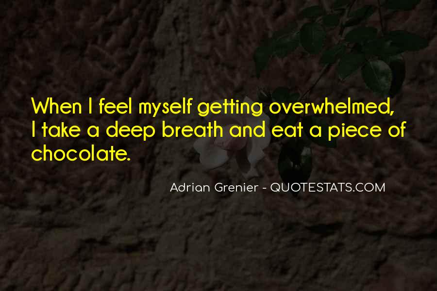 Take Deep Breath Quotes #1049053