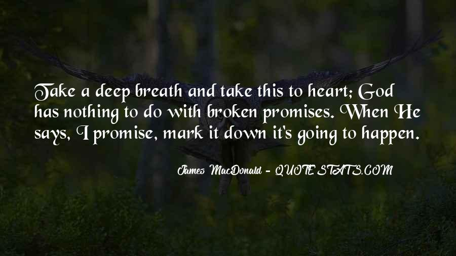Take Deep Breath Quotes #1086120