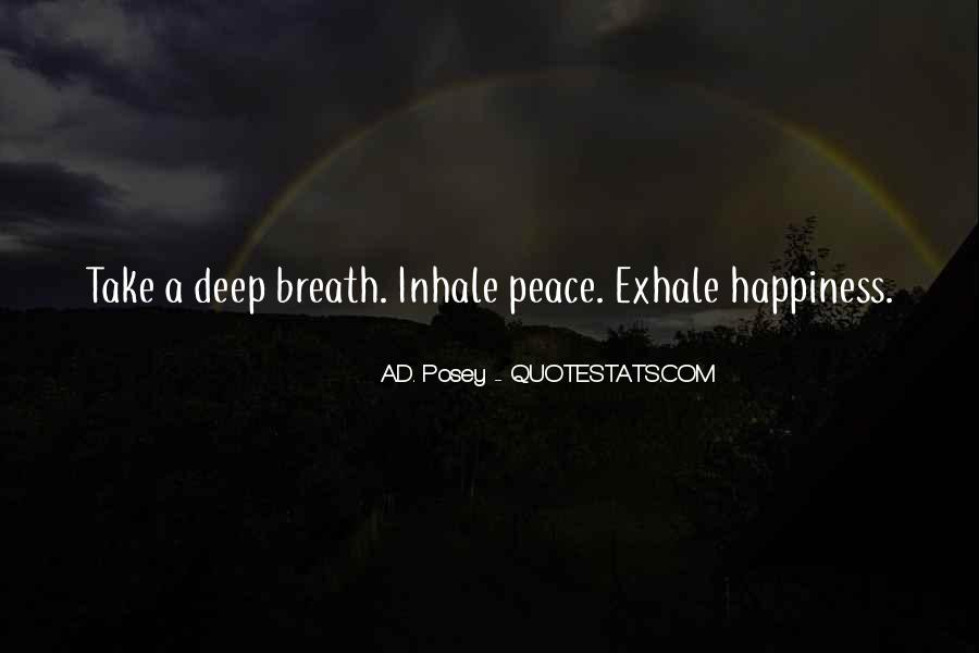Take Deep Breath Quotes #169278