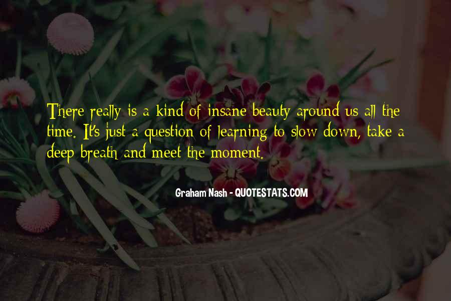 Take Deep Breath Quotes #636071