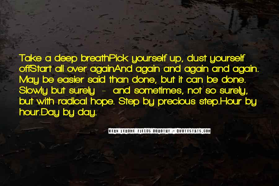 Take Deep Breath Quotes #766199