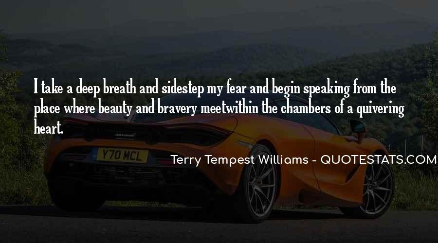 Take Deep Breath Quotes #836516