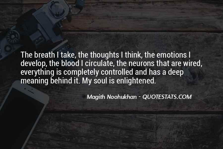 Take Deep Breath Quotes #908150