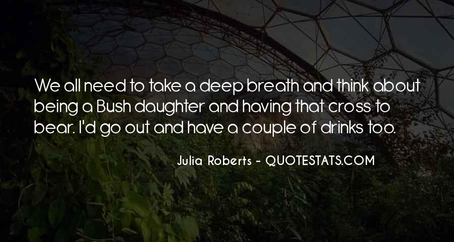 Take Deep Breath Quotes #98804