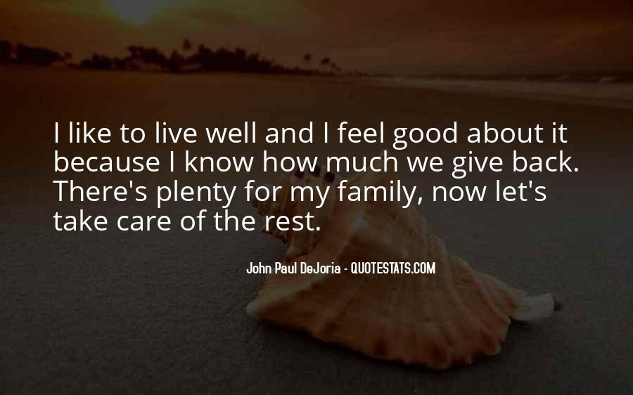 Take Good Care Yourself Quotes #162017