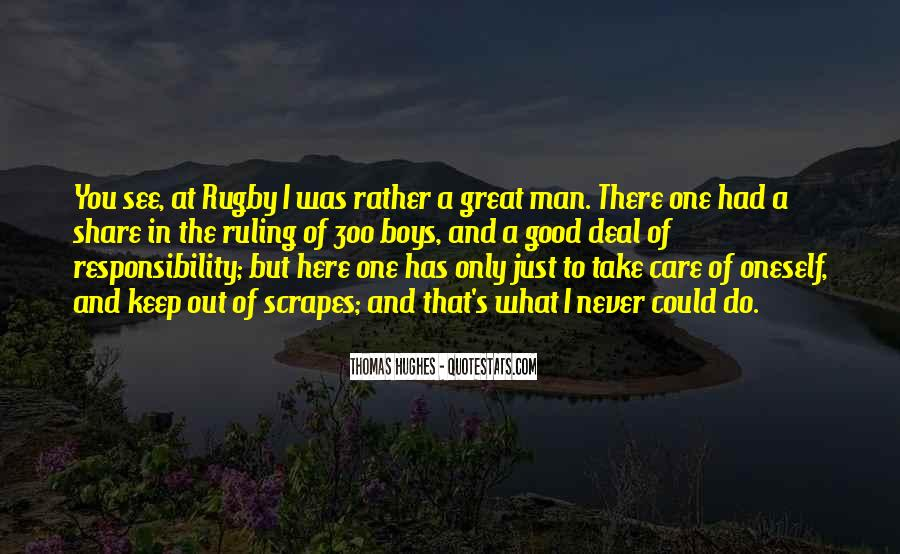Take Good Care Yourself Quotes #230048