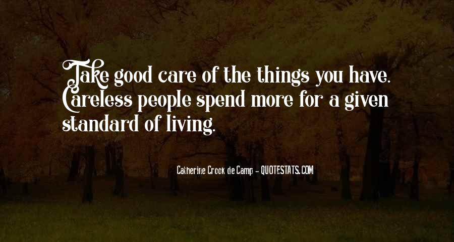 Take Good Care Yourself Quotes #74413