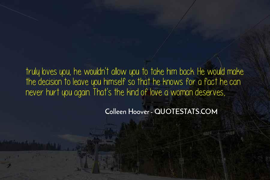 Take Him Back Quotes #1217608