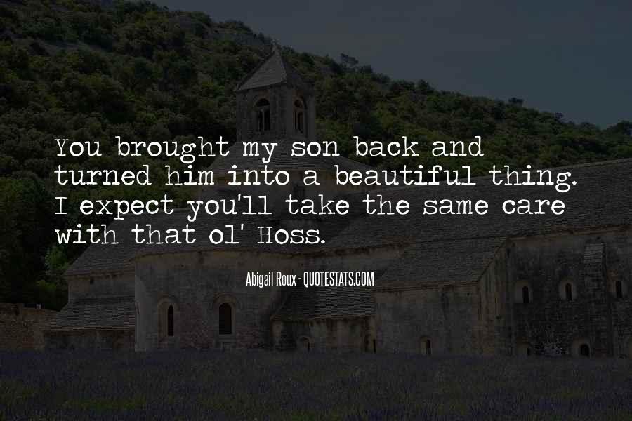 Take Him Back Quotes #239785